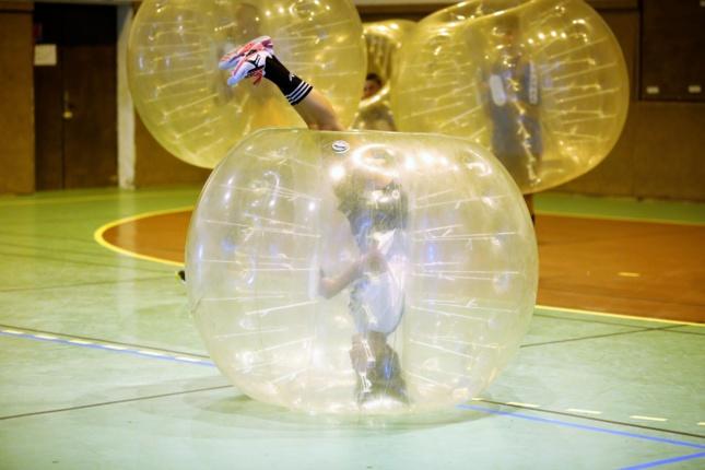 Paintball et Bubble