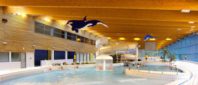 Le centre aquatique Aquavallon