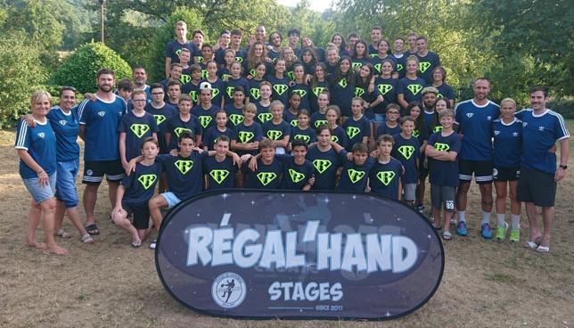Stages d'été Régal'hand 2018
